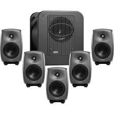 home theater speaker calibration genelec 8330 5 1 surround sound system 8330 lse surround sam b u0026h