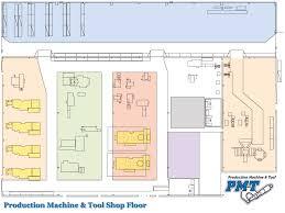 Machine Shop Floor Plan Pm U0026t Shop Floor