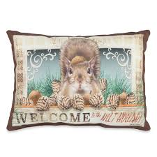 welcome to the nuthouse country style throw pillows sturbridge