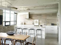 groutless kitchen backsplash groutless tile kitchen industrial with breakfast bar concrete