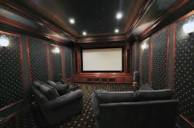 Home Theater Rooms Design Ideas For Goodly Mind Blowing Home - Home theater design dallas
