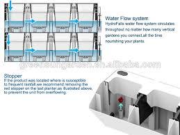 vertical garden green wall hydroponics system view hydroponics