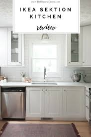 ikea sektion high kitchen cabinets ikea sektion kitchen review 1 year later forrester home