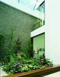 Kerala Home Design With Courtyard by Staircase And Courtyard Design By Kumar Moorthy And Assosciates