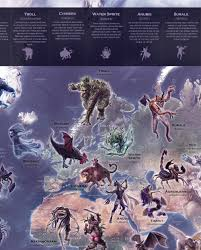Furry Map Map U2014 Mythical Monsters