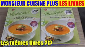 de recette de cuisine monsieur cuisine plus livres de recettes présentation rapide