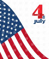 Usa Flag Vector Independence Day Decorative Background With Usa Flag Royalty Free