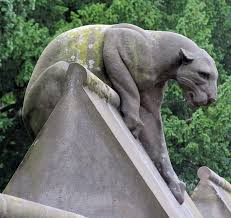 lioness statue animal wall cardiff bob speel s website