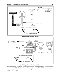 msd programmable digital shift light figure 4 installing to an inductive coil pack msd 8963 digital