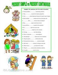 3 present perfect simple continuous tense exercises elementary