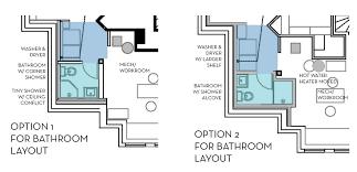 basement bathroom above ground plumbing