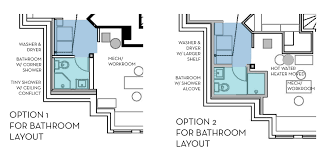 basement bathroom raised floor