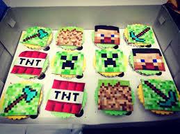 minecraft cupcake u2013 april cake
