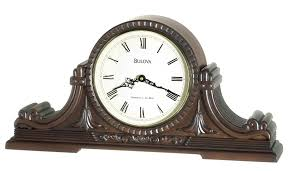 era mantel clock bulova guildhall