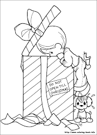 printable 13 precious moments christmas coloring pages 7332