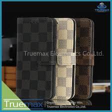 grid pattern alpha lv style grid pattern leather case for samsung galaxy alpha