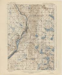 St Croix Map Historical Topographic Maps Perry Castañeda Map Collection Ut