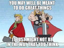 Excalibur Meme - image tagged in thor arthur mjolnir excalibur imgflip