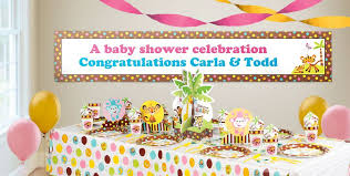 baby shower banners baby shower banner wording ideas custom baby shower banners baby