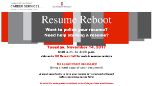 Get Your Resume Reviewed Osu Of Comm Ohiostatecomm Twitter