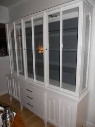 peahen pad painted china cabinet