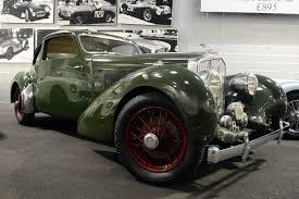 bentley coupe new car at the simeone museum 1938 bentley coupe by van vooren