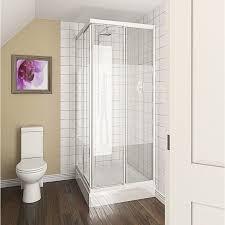 White Shower Door White Framed Shower Doors Sliding Bifold And Pivot