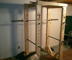 Home Gym by Wood Power Rack For Home Gym Wooden Power Rack Pinterest