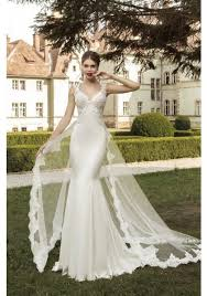 wedding dress with detachable detachable satin trumpet mermaid wedding dress