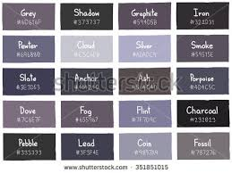 shades of gray names shades of the color grey best hairstyles 2018