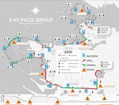 New York City Marathon Map by Your 2013 Bmo Vancouver Marathon 3 45 Pace Group Race Plan