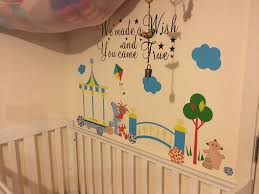 decorating with in the night garden wall stickers from