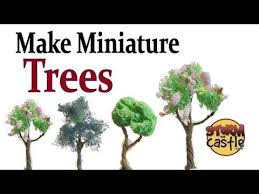 miniature artificial grass actual process of home made