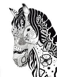 coloriage chevaux u2026 pinteres u2026
