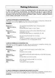 english teaching worksheets inference