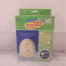 Crib Light Little Bean Voice Activated Crib Light Bayi U0026 Kanak Kanak Lain