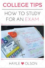 how to study for an exam printable checklist step guide read