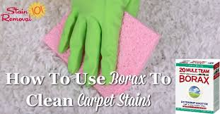 How To Remove Rug Stains Use Borax To Clean Carpet And Remove Carpet Stains