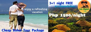cheap bohol tour package promo with accommodations air