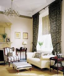 Livingroom Curtain Striped Curtains In Living Room Business For Curtains Decoration
