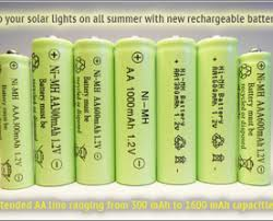 rechargeable aa batteries for solar lights 5 main reasons why your solar lights are not performing as well as
