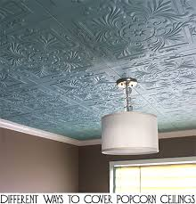 Remove Popcorn Ceiling And Paint by Different Ways To Cover Popcorn Ceilings Popcorn Ceilings And House