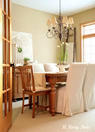 Linen Dining Chair Slipcovers by Linen Dining Room Chair Slipcovers Sumptuous Chair Slipcover In