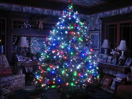 Christmas Trees With Lights Led Light Christmas Trees U2013 Happy Holidays