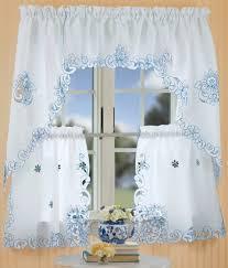 Blue Kitchen Curtains by 40 Best Kitchen Curtains Images On Pinterest Kitchen Curtains