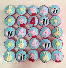 peppa pig cupcakes peppa pig cupcakes by c for cake gladesville new south wales