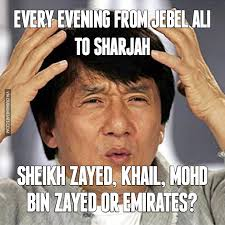 Bin Meme - every evening from jebel ali to sharjah image dubai memes