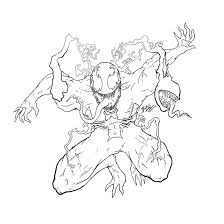 printable venom coloring pages coloring me