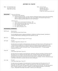 superintendent resume template 7 free word pdf documents