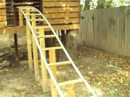Backyard Connect Four by Backyard Homemade Pvc Roller Coaster Thrillium Construction